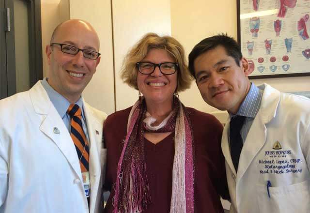 Roberta with Dr. Tufano and Mike Lopez