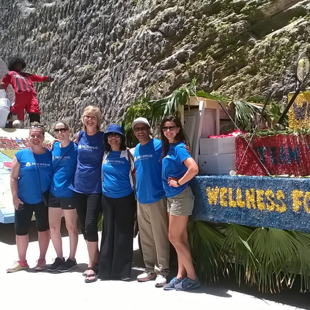Johns Hopkins Medicine International Participates in Bermuda Day Parade