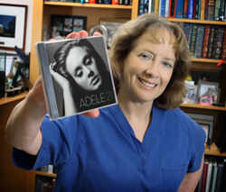 Julie Freischlag learned to appreciate Adele from her fellow in the OR, Brandon Propper.