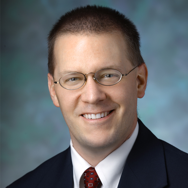 Portrait of Christopher Oakley, M.D., director of the Johns Hopkins Pediatric Headache Center