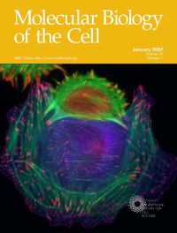 Molecular Biology of the Cell magazine cover