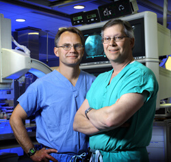 Johns Hopkisn cardiac surgeons Jon Resar and John Conte