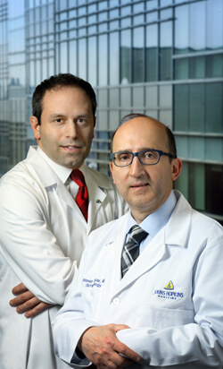 Nabil Dagher and Ahmet Gurakar are helping to reinvigorate the Johns Hopkins live-donor liver transplant program.