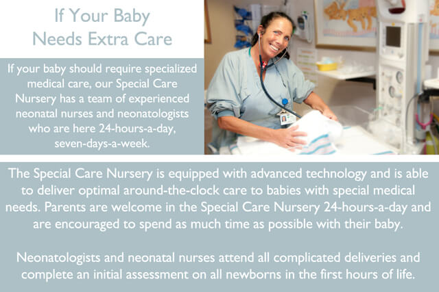 Labor and Delivery virtual tour slide