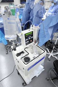 Intraoperative cell salvage machine