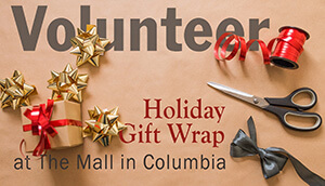 Mall Gift Wrap Volunteers