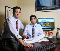 Timothy Pawlik and Adil Haider are heading the Center for Surgical Trials and Outcomes Research, a program to help investigators share ideas and resources.