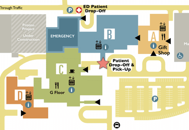 New Sibley campus map