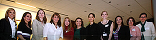 Participating alumnae from the Career Networking Event