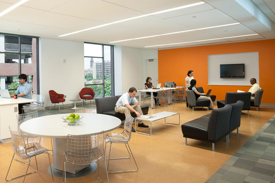 The four College suites are meant to be used as social space for medical students.