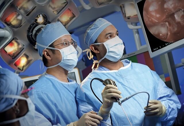 two doctors in surgery