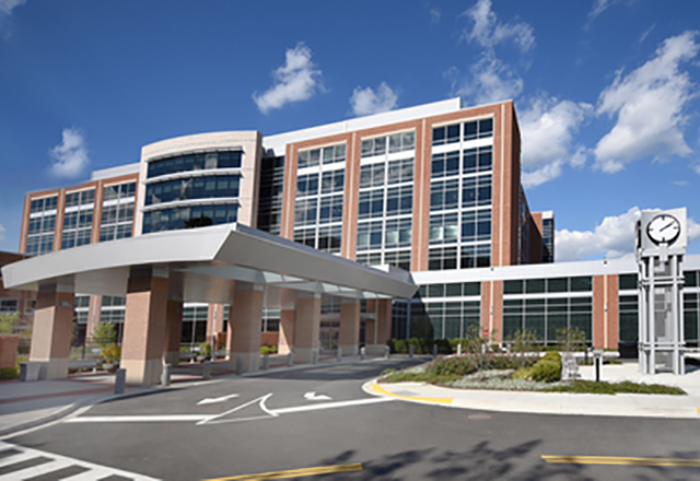 Sibley Memorial Hospital building - breast surgical oncology