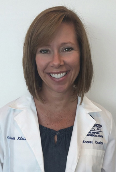 breast surgery - image of Catherine Klein