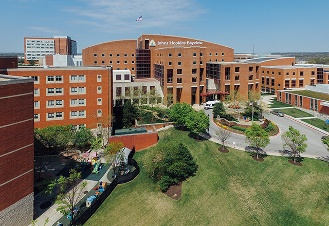 breast surgery - johns hopkins bayview building