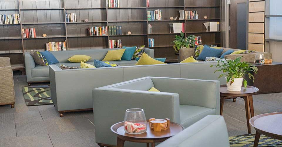 Academy Lounge and Library
