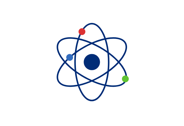 research atom icon