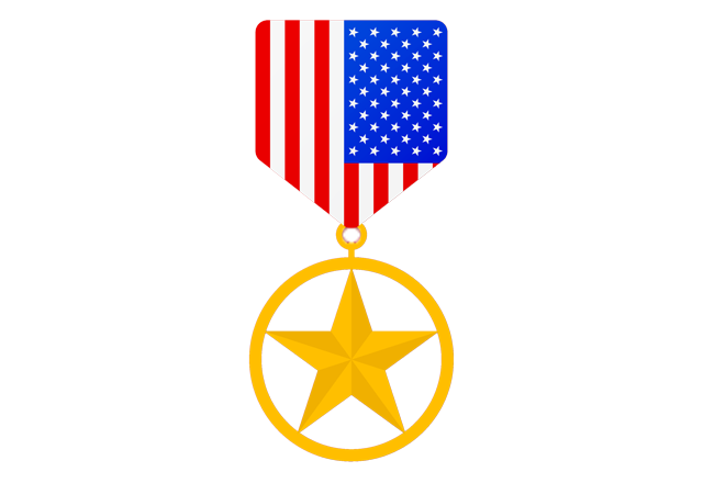 reconstructive transplant - military medal icon