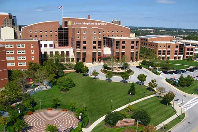 Johns Hopkins Bayview Medicine Center in Baltimore
