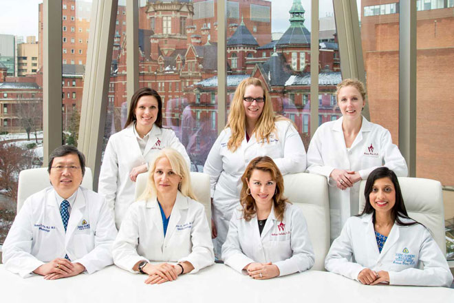 the wilmer eye institute dry eye team