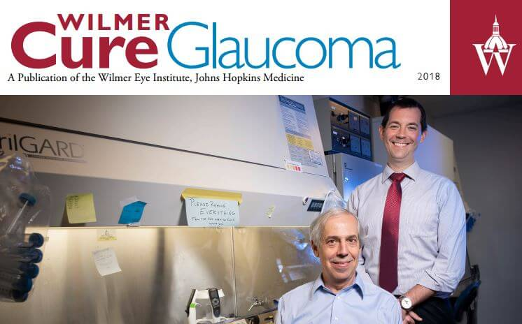 Cure Glaucoma Newsletter Cover