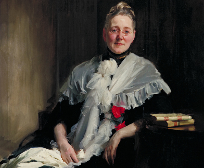 A portrait of Mary Elizabeth Garrett